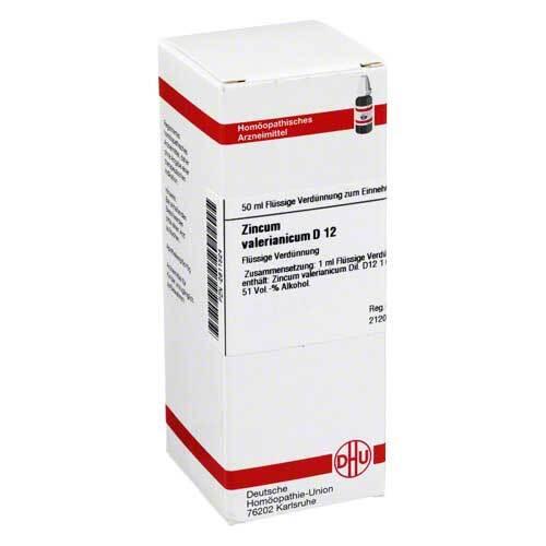 DHU Zincum valerianicum D 12 Dilution - 1
