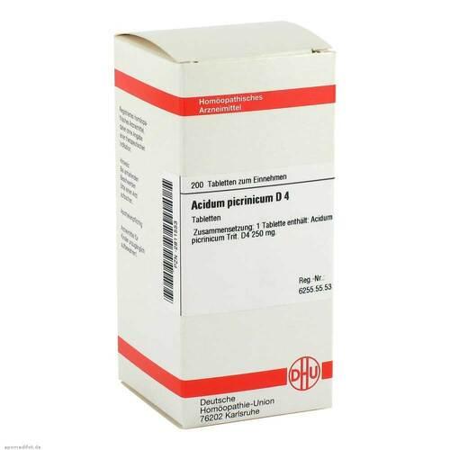 Acidum picrinicum D 4 Tabletten - 1
