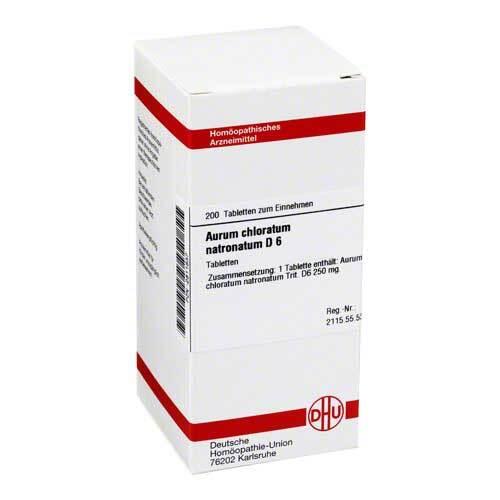 Aurum chloratum natronatum D 6 Tabletten - 1