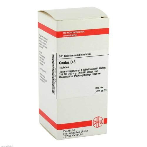 DHU Cactus D 3 Tabletten - 1