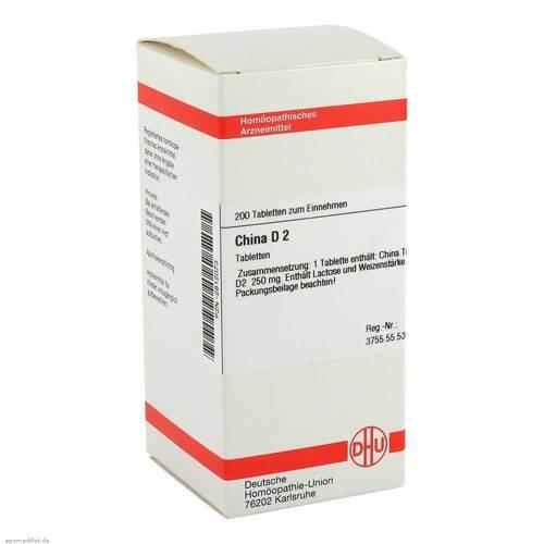 DHU China D 2 Tabletten - 1