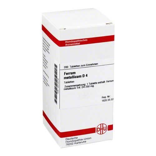 DHU Ferrum metallicum D 4 Tabletten - 1