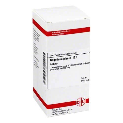 DHU Galphimia glauca D 6 Tabletten - 1