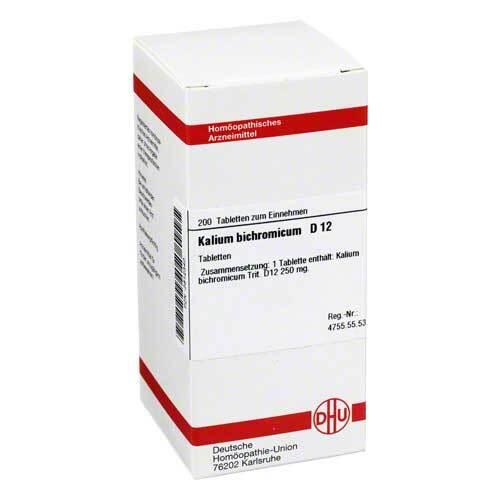 DHU Kalium bichromicum D 12 Tabletten - 1