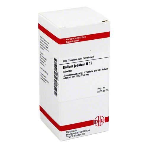 Kalium jodatum D 12 Tabletten - 1