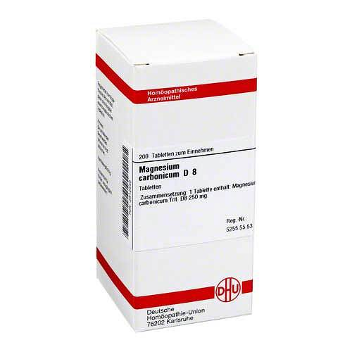 DHU Magnesium carbonicum D 8 Tabletten - 1