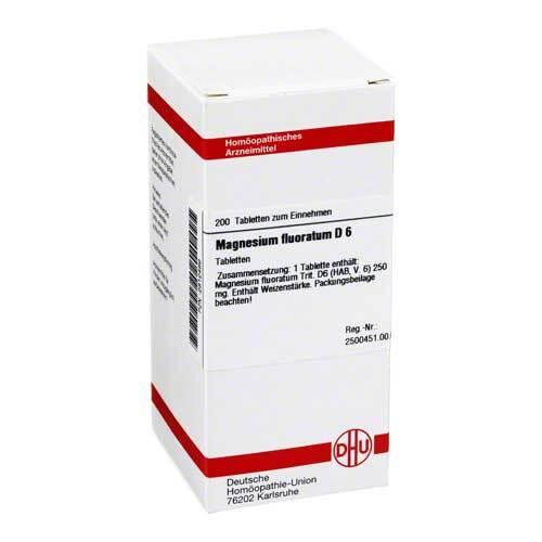DHU Magnesium fluoratum D 6 Tabletten - 1