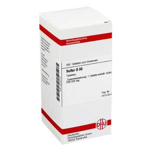 DHU Sulfur D 30 Tabletten - 1