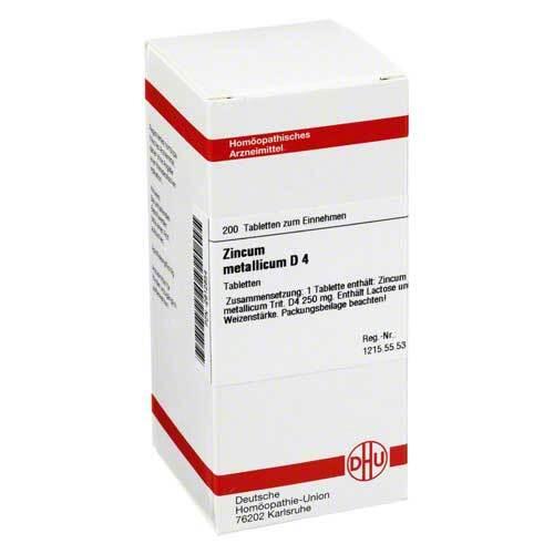 DHU Zincum metallicum D 4 Tabletten - 1