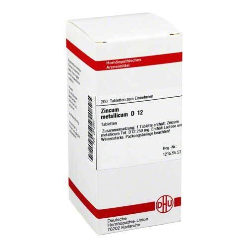 Zincum metallicum D 12 Tabletten - 1