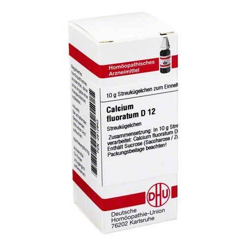 Calcium fluoratum D 12 Globuli - 1