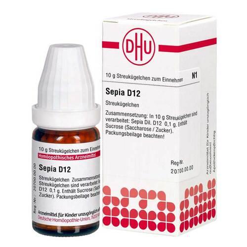 DHU Sepia D 12 Globuli - 1