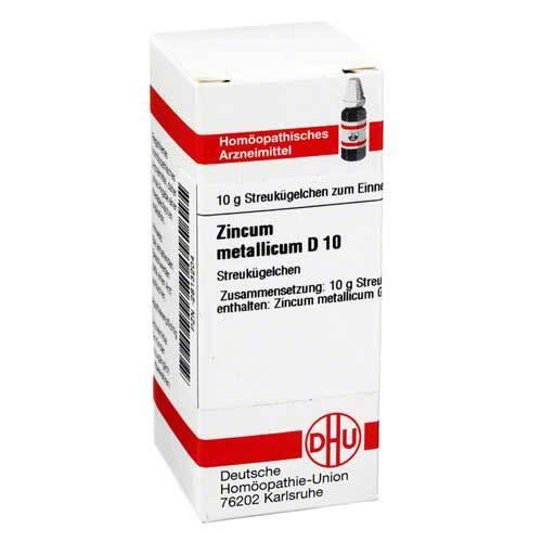 DHU Zincum metallicum D 10 Globuli - 1