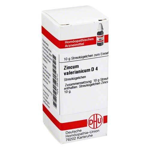 Zincum valerianicum D 4 Globuli - 1