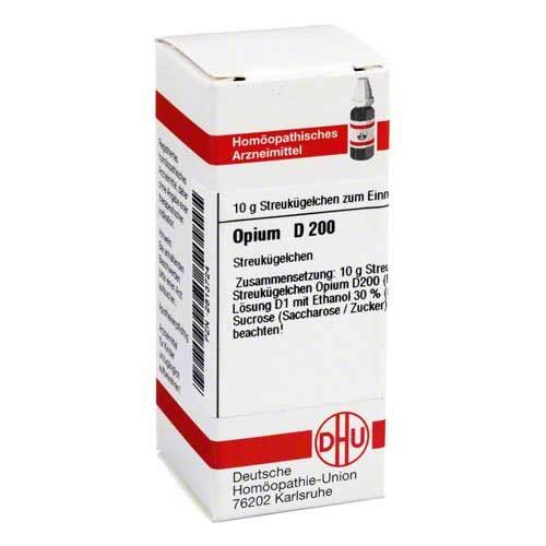 DHU Opium D 200 Globuli - 1