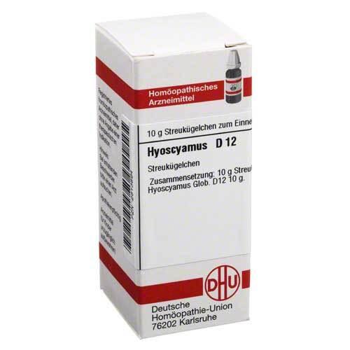 Hyoscyamus D 12 Globuli - 1