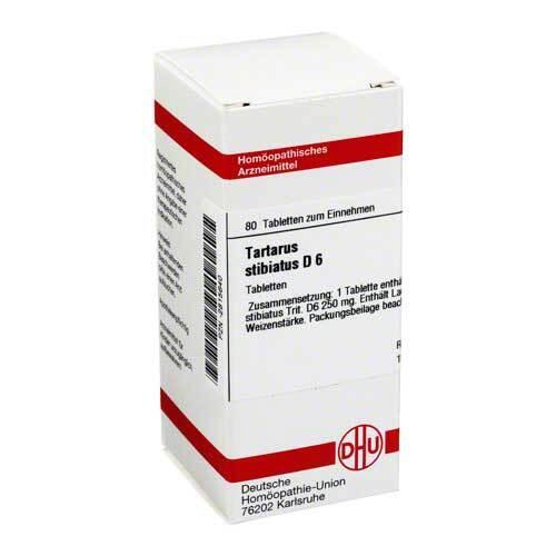 DHU Tartarus stibiatus D 6 Tabletten - 1