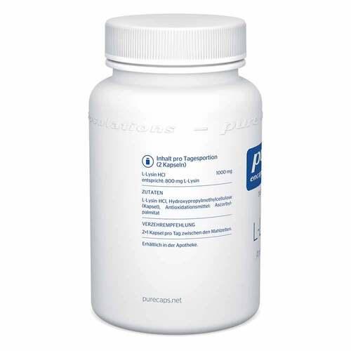 Pure Encapsulations L-Lysin Kapseln - 3