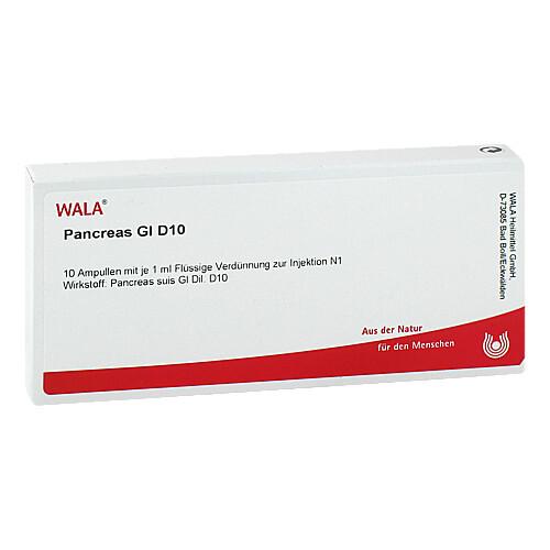Pancreas GL D 10 Ampullen - 1