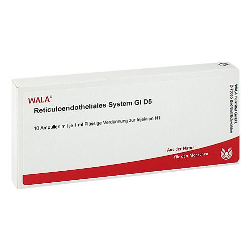 Reticuloendotheliales sys. GL D 5 Ampullen - 1