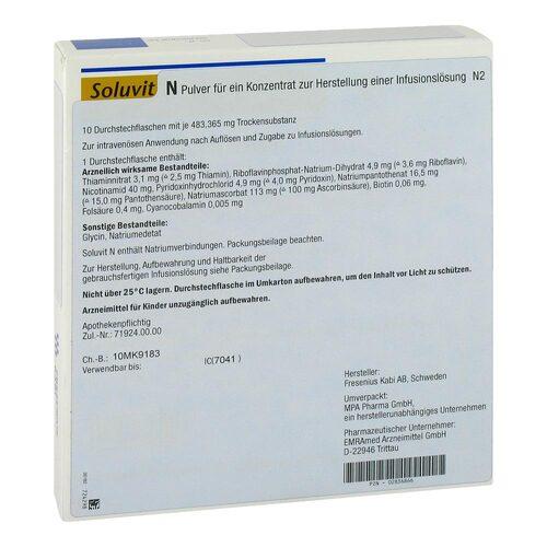 Soluvit N Trockensubstanz ohne Lösungsmittel - 1