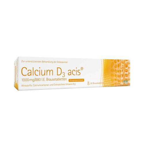 Calcium D3 acis 1000 mg / 880 I.E. Brausetabletten - 1