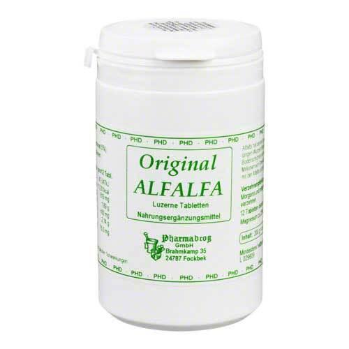 Alfalfa Tabletten - 1