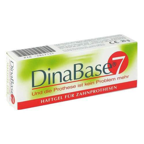 Dinabase 7 unterfütterndes Haftmaterial für Zahnprothesen - 1