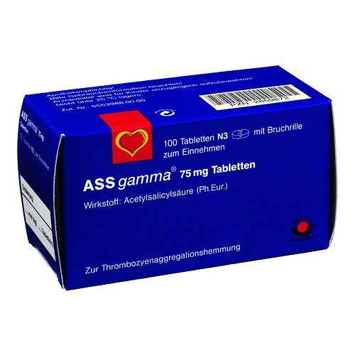 ASS Gamma 75 mg Tabletten - 1