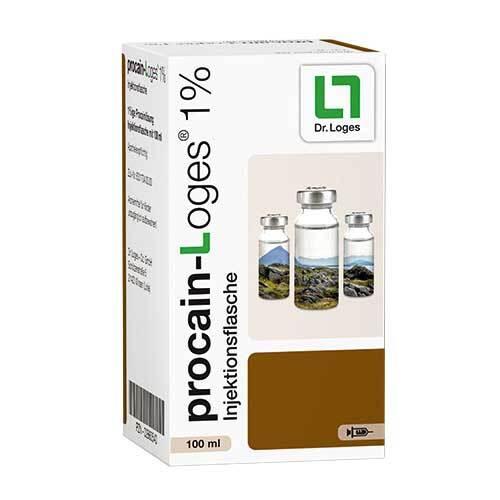 Procain-Loges 1% Injektionsflasche - 1