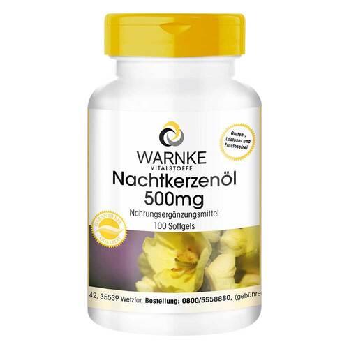 Nachtkerzenöl 500 mg Kapseln - 1