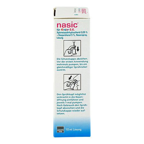 Nasic für Kinder O.K. Nasenspray ohne Konservierungsstoffe - 2