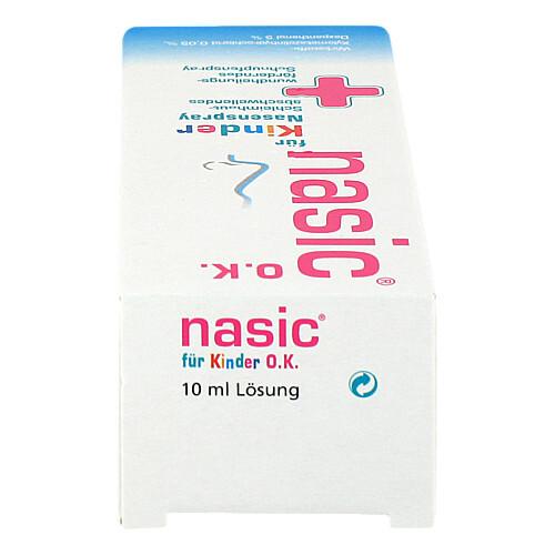 Nasic für Kinder O.K. Nasenspray ohne Konservierungsstoffe - 4