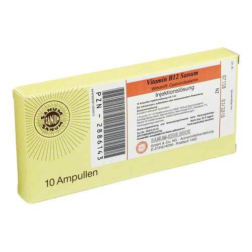Vitamin B12 Sanum Injektionslösung - 1