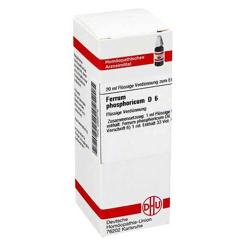 DHU Ferrum phosphoricum D 6 Dilution - 1