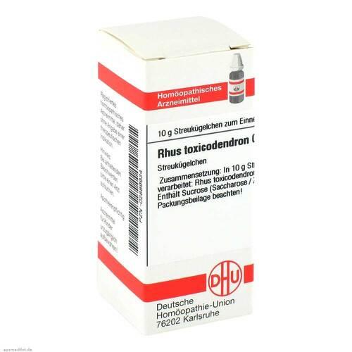 Rhus toxicodendron C 200 Globuli - 1