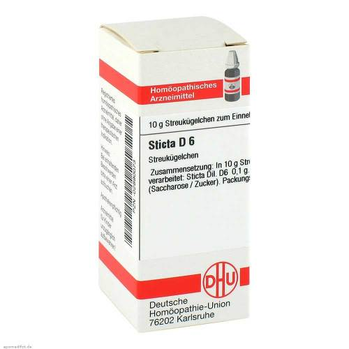 Sticta D 6 Globuli - 1
