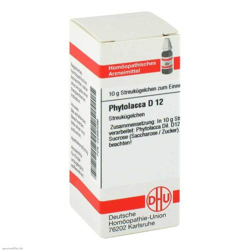 DHU Phytolacca D 12 Globuli - 1