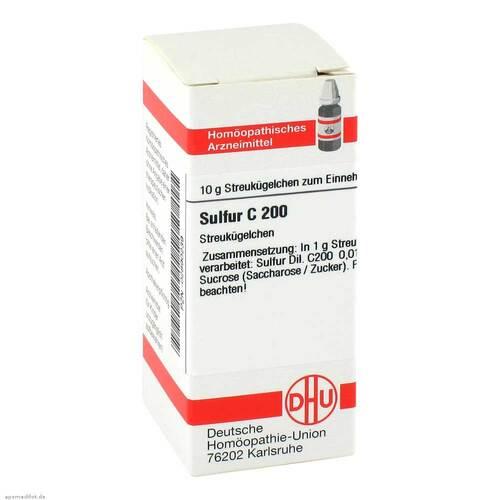 DHU Sulfur C 200 Globuli - 1
