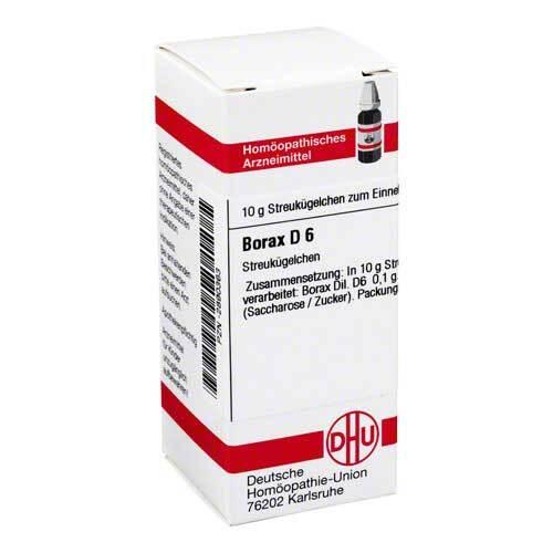 Borax D 6 Globuli - 1