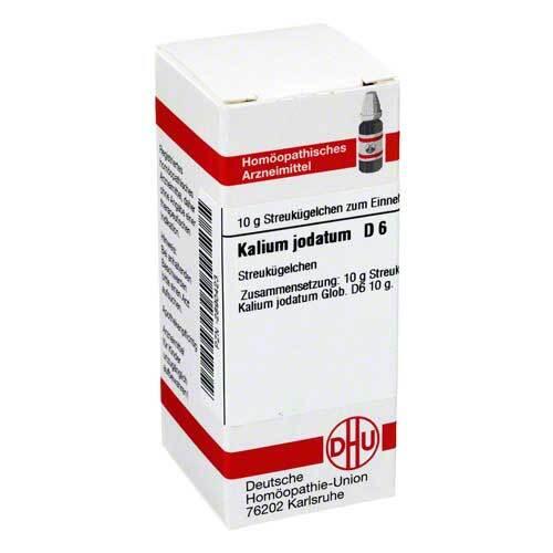 Kalium jodatum D 6 Globuli - 1