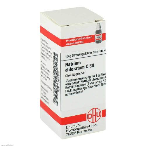Natrium chloratum C 30 Globuli - 1