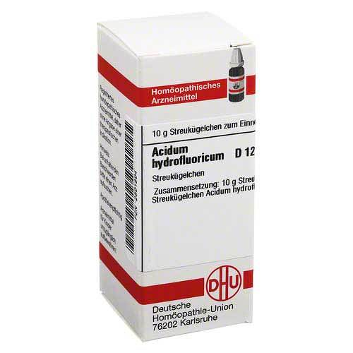 Acidum hydrofluoricum D 12 G - 1