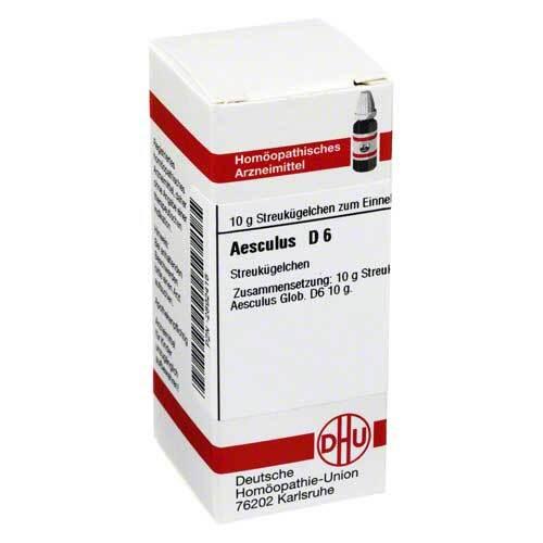 DHU Aesculus D 6 Globuli - 1