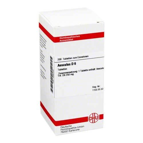 Aesculus D 6 Tabletten - 1
