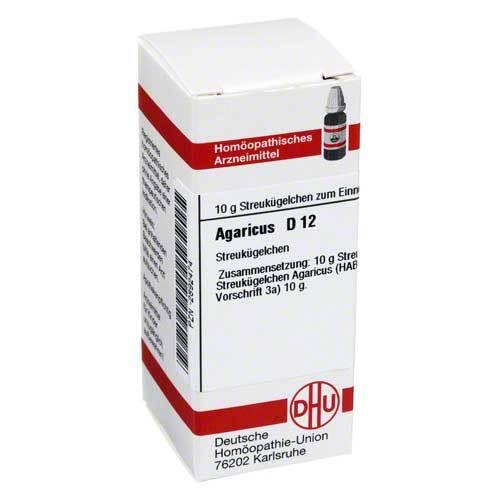 Agaricus D 12 Globuli - 1