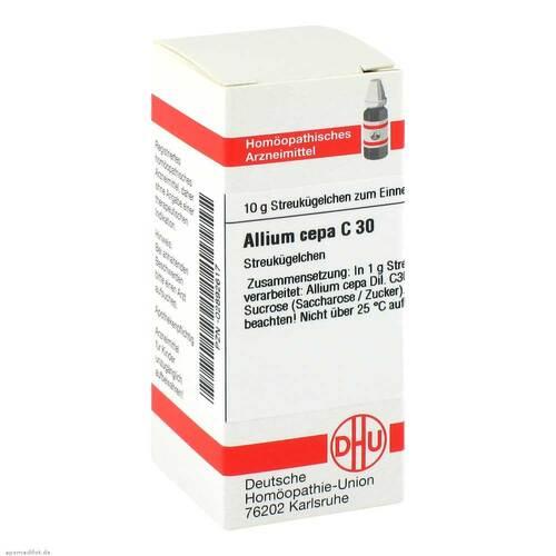 Allium cepa C 30 Globuli - 1