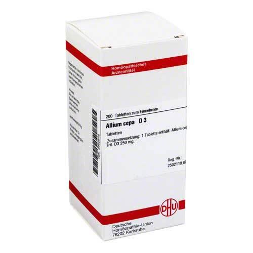 Allium cepa D 3 Tabletten - 1