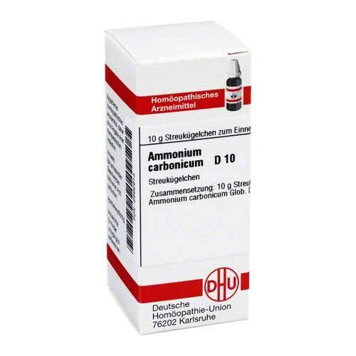 Ammonium carbonicum D 10 Globuli - 1