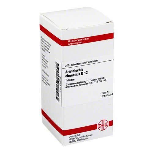 DHU Aristolochia clematitis D 12 Tabletten - 1